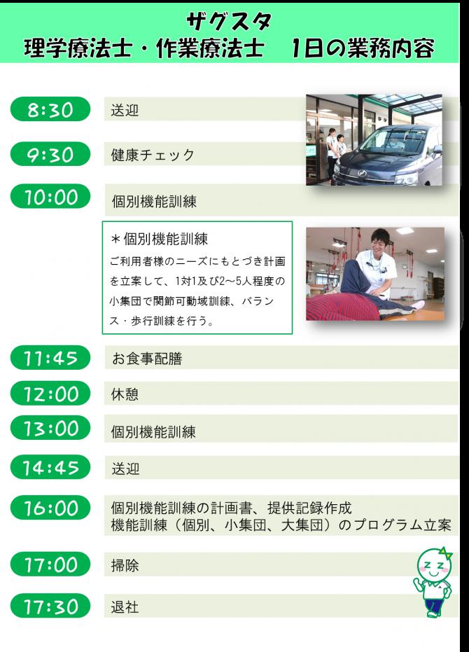 PT・OT 1日の業務①